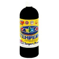 Farba Carioca tempera czarna 1000ml (ko03/24)