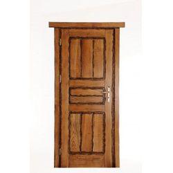 Drzwi wewnętrzne dębowe RUSTICA