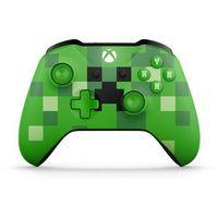 Gamepady, Kontroler MICROSOFT XBOX ONE Minecraft Creeper + Kontroler 20% taniej przy zakupie konsoli xbox! + DARMOWY TRANSPORT!