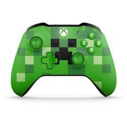 Kontroler MICROSOFT XBOX ONE S Minecraft Creeper + Kontroler 20% taniej przy zakupie konsoli xbox! + Zamów z DOSTAWĄ JUTRO! + DARMOWY TRANSPORT!