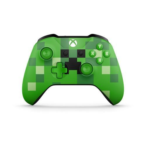 Gamepady, Kontroler MICROSOFT XBOX ONE Minecraft Creeper + DARMOWY TRANSPORT!