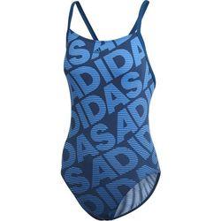 adidas Allover Print Jednoczęściowy strój kąpielowy Kobiety, niebieski DE 44   L 2019 Stroje kąpielowe