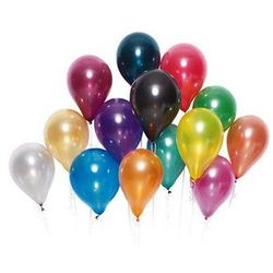 Balony lateksowe średnie - 10 cali - kolorowe - 25 szt.