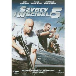 Szybcy i wściekli 5 (DVD) - Chris Morgan OD 24,99zł DARMOWA DOSTAWA KIOSK RUCHU