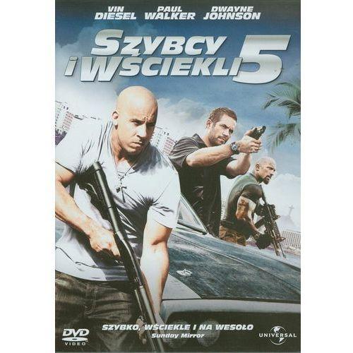 Filmy kryminalne i sensacyjne, Szybcy i wściekli 5 (DVD) - Chris Morgan OD 24,99zł DARMOWA DOSTAWA KIOSK RUCHU