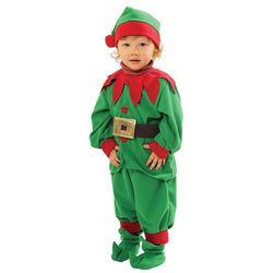 Strój Elf- mały pomocnik Mikołaja 122/128