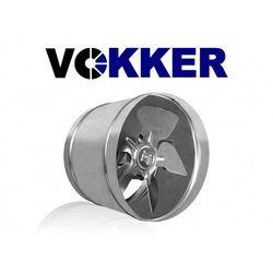 Wentylator kanałowy, osiowy, metalowy 200mm, 400m3/h (VKO200)
