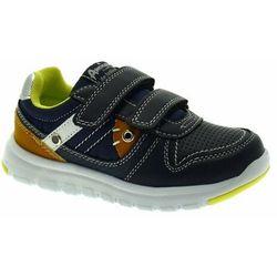 Buty sportowe dla chłopca American Club ES 33/19 Navy - Granatowy