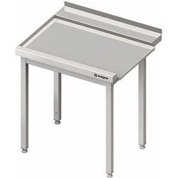 Stół wyładowczy lewy bez półki do zmywarki kapturowej Silanos 1000x740x880 mm | STALGAST, 982437100