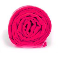 Ręcznik treningowy Dr.Bacty XL neon pink - Różowy