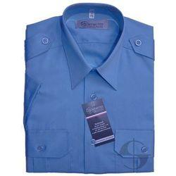 Koszula niebieska Służby Więziennej - krótki rękaw