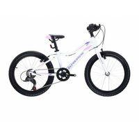 """Rowery dziecięce i młodzieżowe, Rower Kross Lea Mini 3.0 Lgt 20"""" Bia/Róż/Fio 2021"""