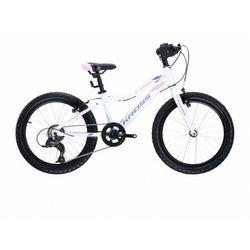 """Rower Kross Lea Mini 3.0 Lgt 20"""" Bia/Róż/Fio 2021"""