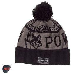 czapka zimowa POW - Kids Fox Beanie True Black (BK)