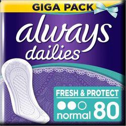 Always wkładki higieniczne Fresh & Protect Normal, 80 szt.
