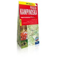 Mapy i atlasy turystyczne, ExpressMap Puszcza Kampinoska papierowa mapa turystyczna Skala: 1:35 000 (opr. miękka)