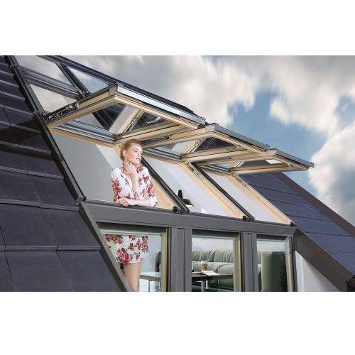 """Okna dachowe, Zestaw okien typu """"Galeria"""" Okpol 1 x 78/140/75 cm"""