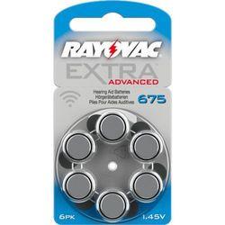 6 x baterie do aparatów słuchowych Rayovac Extra Advanced 675 MF
