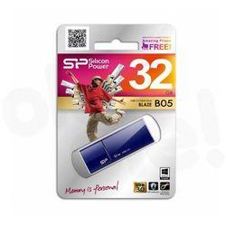 Pendrive Silicon Power Blaze B05 32G Niebieski (SP032GBUF3B05V1D) Darmowy odbiór w 21 miastach!