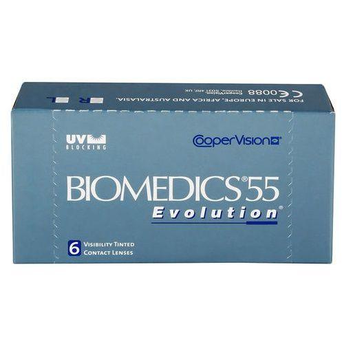 Soczewki kontaktowe, Biomedics 55 Evolution - moce dodatnie