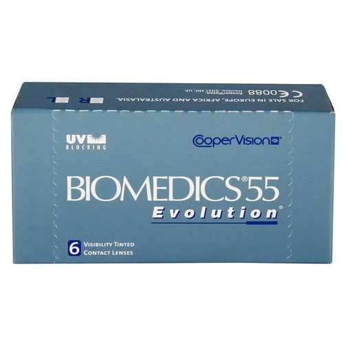 Soczewki kontaktowe, Biomedics 55 evolution - moce ujemne