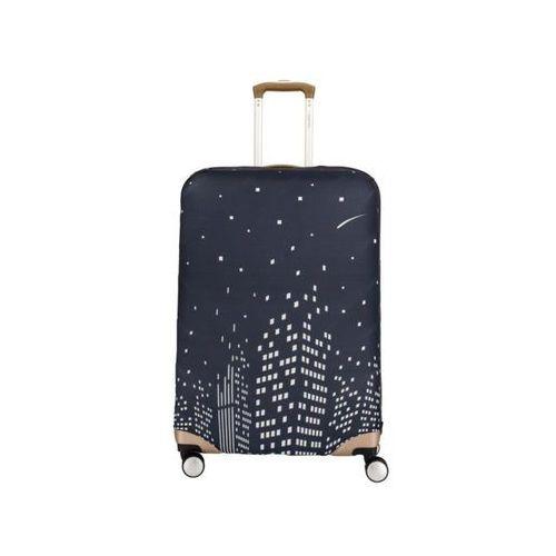 Zabezpieczenia bagażu, Pokrowiec zabezpieczający na walizkę średnią Travelite 318 Noc