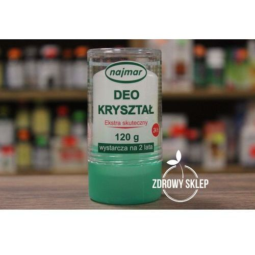 Pozostałe zapachy, najmar DEO KRYSZTAŁ dezodorant bez perfum alkoholu barwników konserwantów 120g