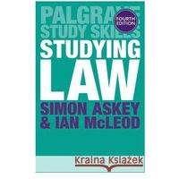 Socjologia, Studying Law