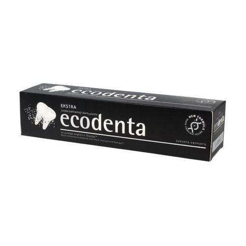 Pasty do zębów, Ecodenta Czarna Wybielająca Pasta Do Zębów, 100 ml - Ecodenta