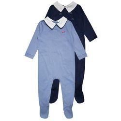 mothercare BOYS HANGING SLEEPSUIT HERITAGE BABY 2 PACK Piżama blue