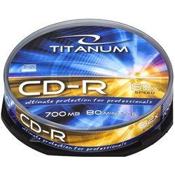 CD-R TITANUM 700MB 10szt.- natychmiastowa wysyłka, ponad 4000 punktów odbioru!