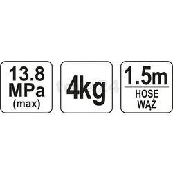 Smarownica ręczna 4kg / YT-07061 / YATO - ZYSKAJ RABAT 30 ZŁ