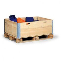 Nadstawka paletowa drewniana, 1200x800x400 mm, 5 szt.