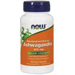 Now Foods Ashwagandha extract standaryzowany 90 kaps.