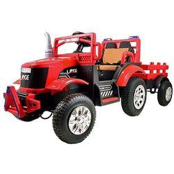 Mega Traktor Large na akumulator z przyczepką