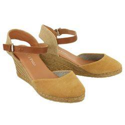 MARC O'POLO 603 13351901 300 731 caramel, sandały damskie - Beżowy