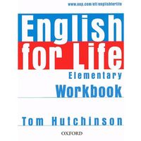 Książki do nauki języka, English for Life Elementary Ćwiczenia Bez Klucza (opr. miękka)