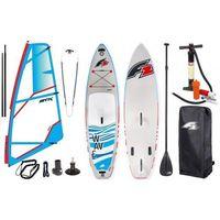 """Deski do windsurfingu, Zestaw Windsurfingowy-Deska Wind Sup F2 Wave 10'5"""" + Pednik STX Power 2019"""