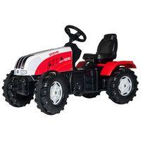 Traktory dla dzieci, Rolly Toys Traktor Farmtrac Steyr CVT6230 z Łyżką