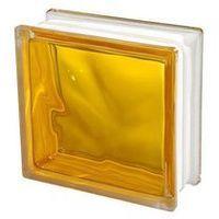 Cegły i pustaki, Pustak szklany Seves 1908 WGL żółty