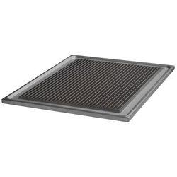Płyta ryflowana na ruszt żeliwny - podówjna, 350x570 mm | LOTUS, PRF/2