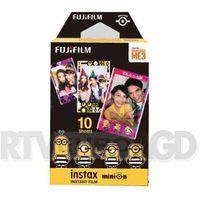 Klisze fotograficzne, Fujifilm Instax Mini Minionki DM3 Movie 10 szt. - produkt w magazynie - szybka wysyłka!
