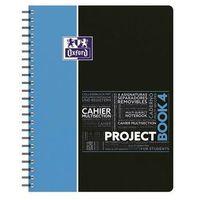 Zeszyty, Kołozeszyt A4 Oxford w kratkę 100 kartek Project Book 4 mix