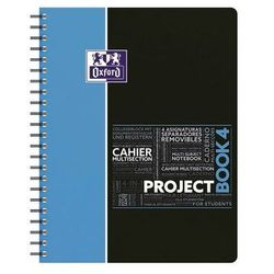 Kołozeszyt A4 Oxford w kratkę 100 kartek Project Book 4 mix