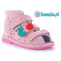 Obuwie profilaktyczne dziecięce, Daniel profilaktyczne buty wzór 260/270 kolor różowy