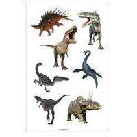 Naklejki, Naklejki A ozdobne Dinozaury II