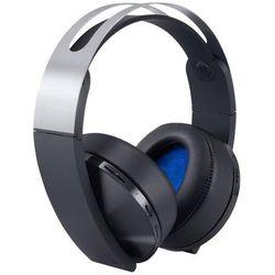 Słuchawki SONY PS4 Platinum Wireless Headset + Zamów z DOSTAWĄ JUTRO! + DARMOWY TRANSPORT!