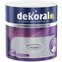 Farba Lateksowa Akrylit W Kolor Szary Klasyczny 2.5l Dekoral