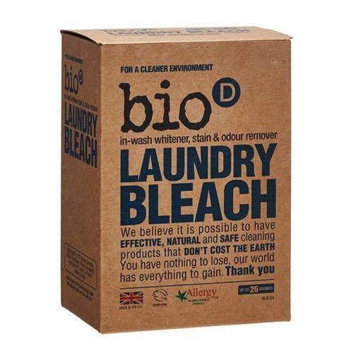 Wybielacze i odplamiacze, - BIO-D - Laundry Bleach - Ekologiczny Odplamiacz, Wybielacz, Eliminator Zapachów, mający właściwości antybakteryjne i odkażające. Usuwa plamy zarówno z białych, jak i z kolorowych tkanin. Nie zawiera chloru ani środków wybielających.
