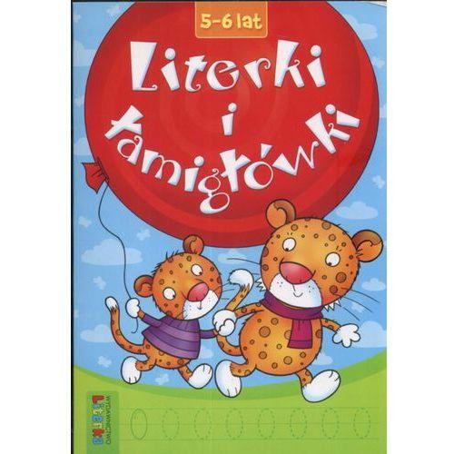 Książki dla dzieci, Literki i łamigłówki 5-6 lat (opr. miękka)